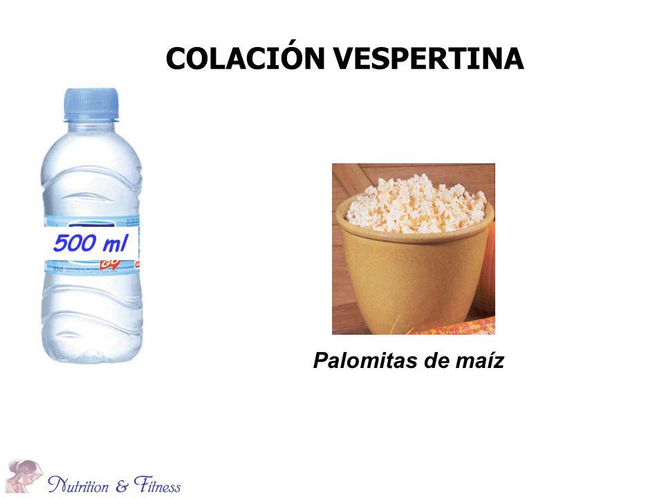 COLACIÓN VESPERTINA Palomitas de maíz 500 ml
