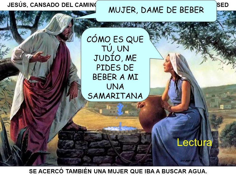 «Señor, no tienes con qué sacarla, y el pozo es hondo; ¿de dónde, pues, tienes esa agua viva.