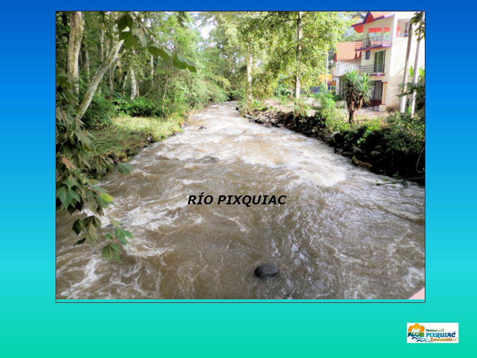 Sección del río Lecho del río Medición del Caudal