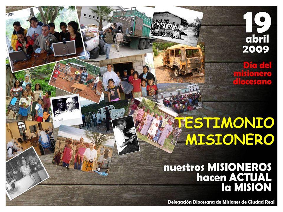 SEGUNDA PARTE: Nuestros misioneros hacen actual la misión. La luz Hablar de las misiones y de los misioneros es hacer memoria de aquellos que entregan