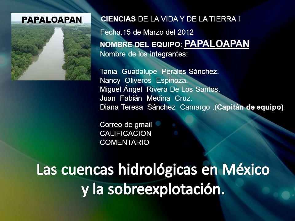 NOMBRE DEL EQUIPO NOMBRE DEL EQUIPO: PAPALOAPAN Nombre de los integrantes: Tania Guadalupe Perales Sánchez.