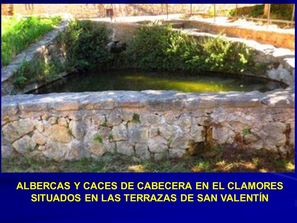 Fuentes de la Piojosa y del Socorro en el valle del Clamores