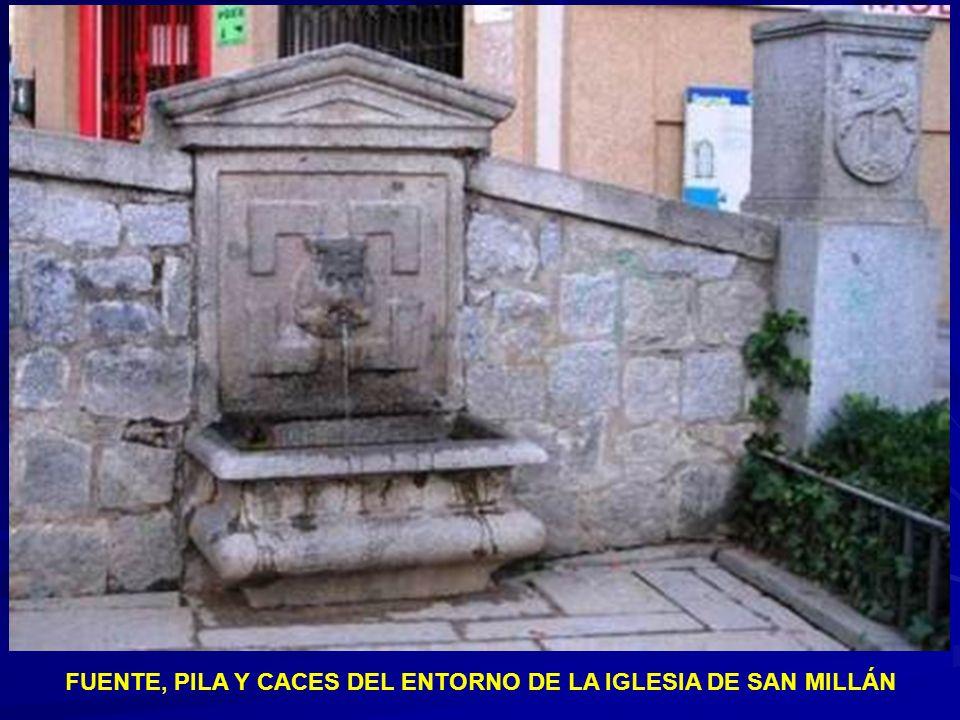 Caños secos en calle Gazola (Gobierno Civil) y calle de Pelaires (trasera San Millán)