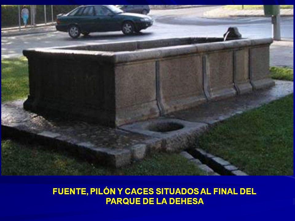 FUENTE Y PILETILLA EN EL PARQUE DE LA DEHESA