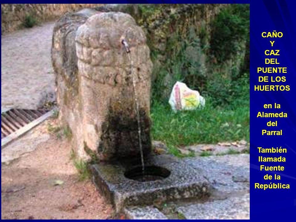 Fuente de Lolete en las terrazas de San Valentín junto a la que fue casa de éste huertano