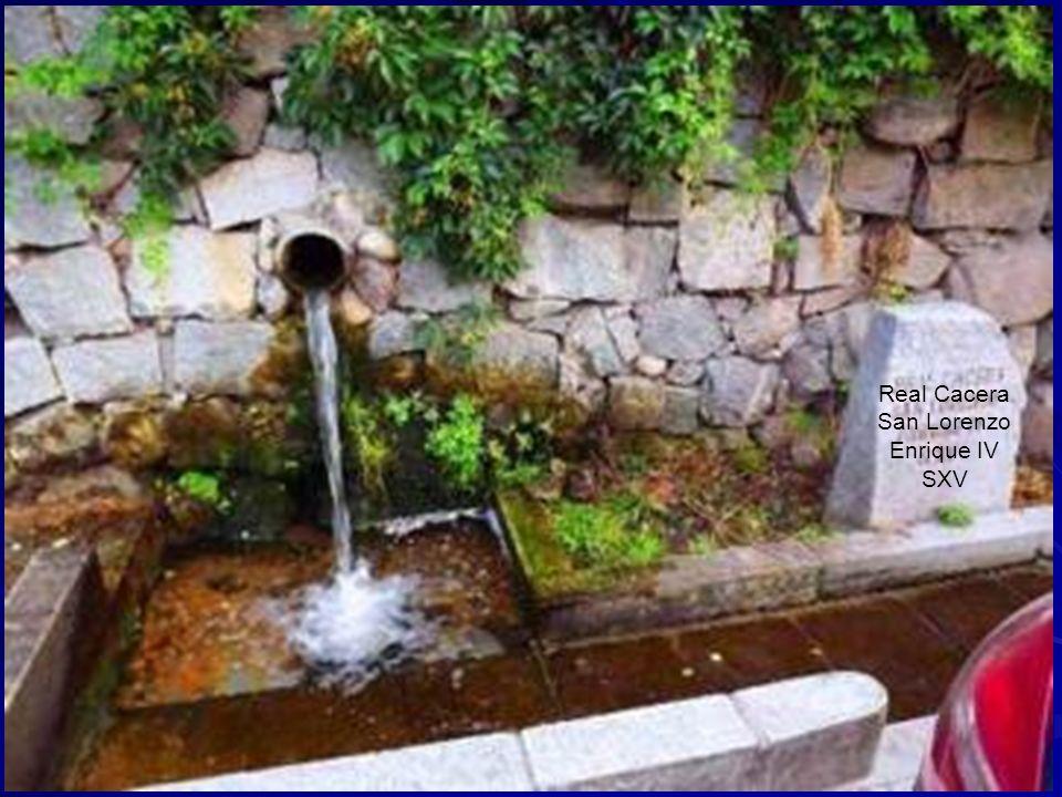 El Caño del Obispo. Se trata de una fuente de gran envergadura, adosada a la ladera y esculpida en piedra caliza. El agua sale por un caño y se recoge