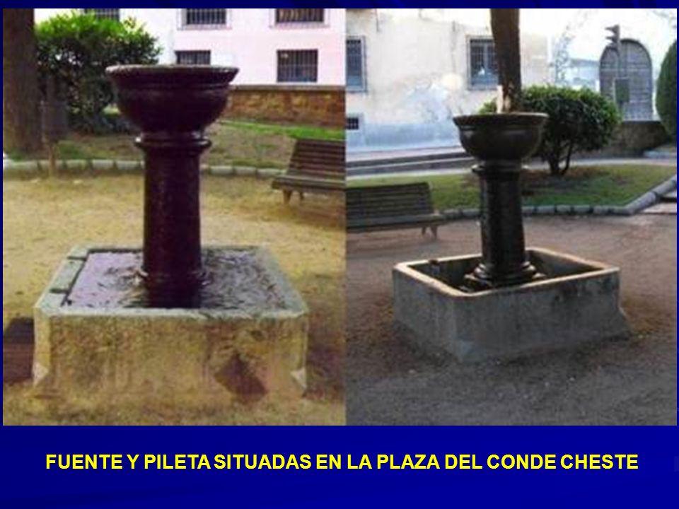 PILÓN EN EL JARDÍN INTERIOR DE SAN JUAN DE LOS CABALLEROS