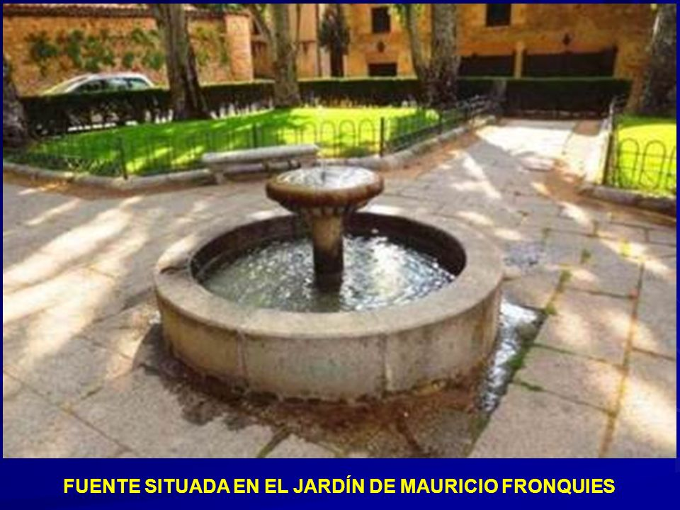 Fuente y Pilón en la plaza de San Esteban