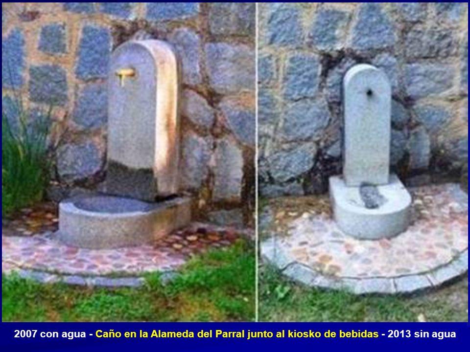 Fuente y pilón situados en un lateral de la plaza del Doctor Gila en el barrio de San Millán