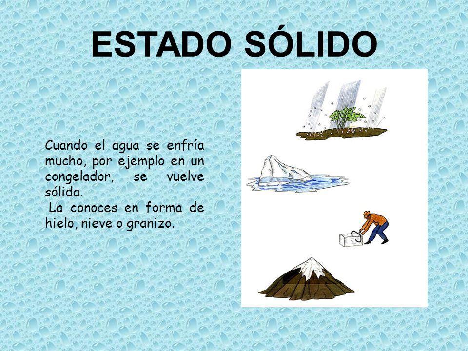 ejemplos de estados solidos: