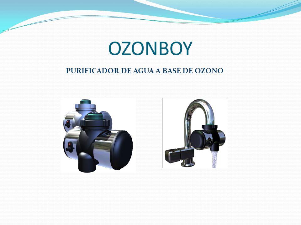 OZONBOY PURIFICADOR DE AGUA A BASE DE OZONO