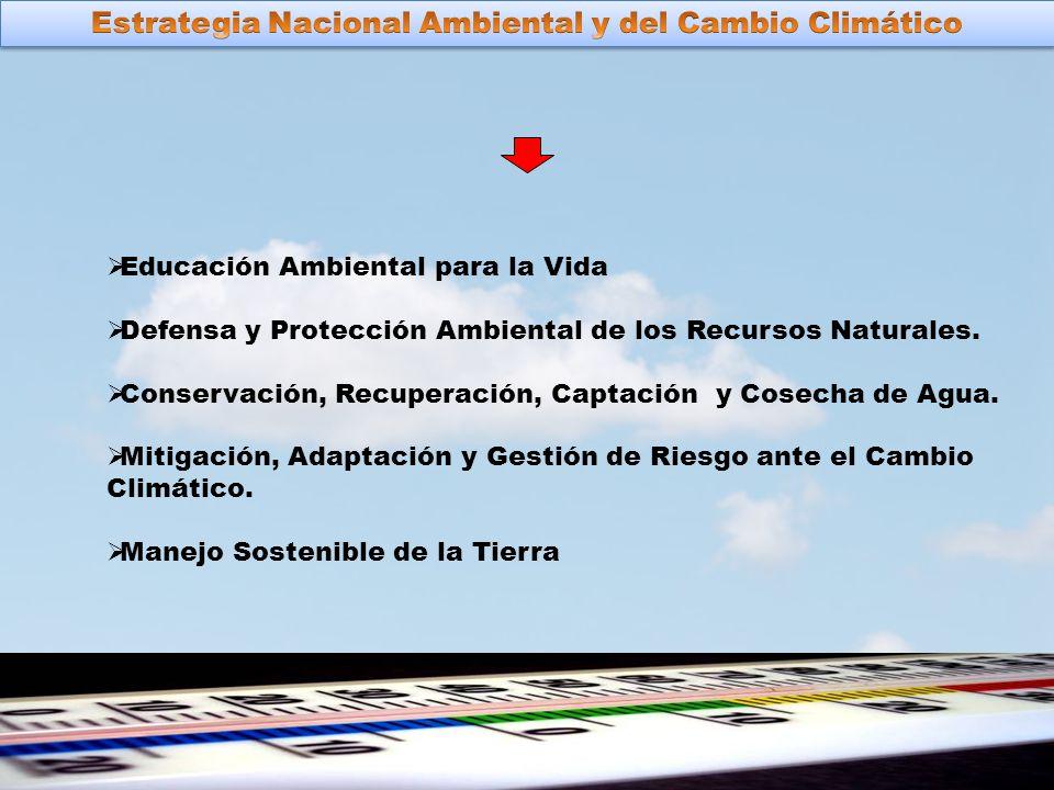 Educación Ambiental para la Vida Defensa y Protección Ambiental de los Recursos Naturales.