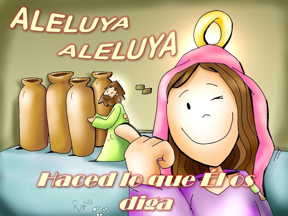 EVANGELIO Su madre dijo a los criados: Había una boda en Caná de Galilea y la madre de Jesús estaba allí; Jesús y sus discípulos estaban también invitados a la boda.