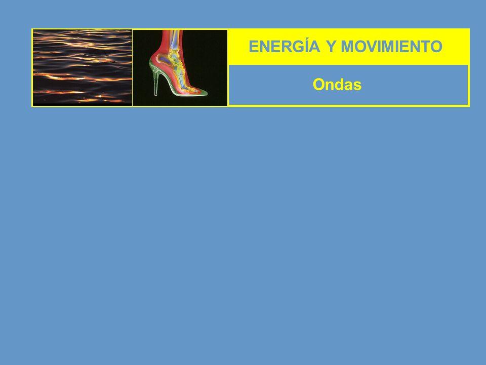 ENERGÍA Y MOVIMIENTO Ondas