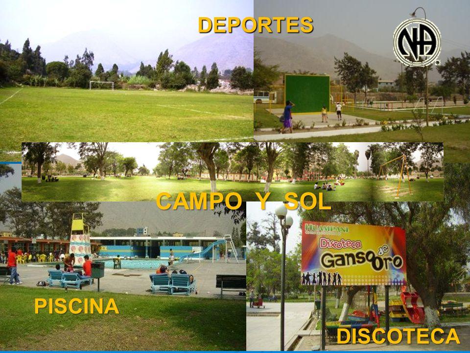 DEPORTES DEPORTES PISCINA DISCOTECA CAMPO Y SOL