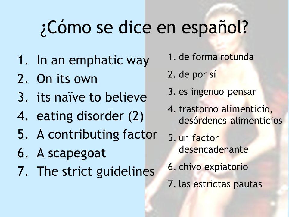 1.Conmoción 2.modelos 3.de Madrid 4.apoyara 5.de Londres 6.mientras 7.apoyan 8.crecimiento 9.debate 10.los periódicos, la radio etc 11.pasan, circulan 1.revuelo 2.maniquís 3.madrileña 4.secundara 5.londinense 6.entretanto 7.sostienen 8.desarrollo 9.la polémica 10.la prensa 11.desfilen