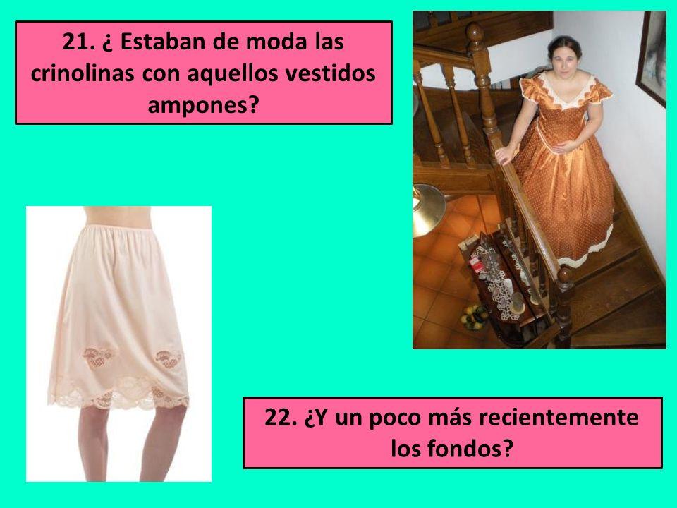 19. ¿Usaste pantalón de Campana de tela de Terlenka o tal vez de marca Topeka? 20. ¿Y ropa de colores psicodélicos?