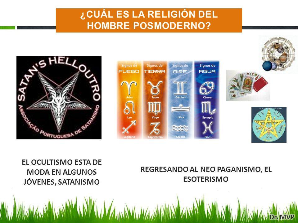 EL OCULTISMO ESTA DE MODA EN ALGUNOS JÓVENES, SATANISMO REGRESANDO AL NEO PAGANISMO, EL ESOTERISMO ¿CUÁL ES LA RELIGIÓN DEL HOMBRE POSMODERNO?