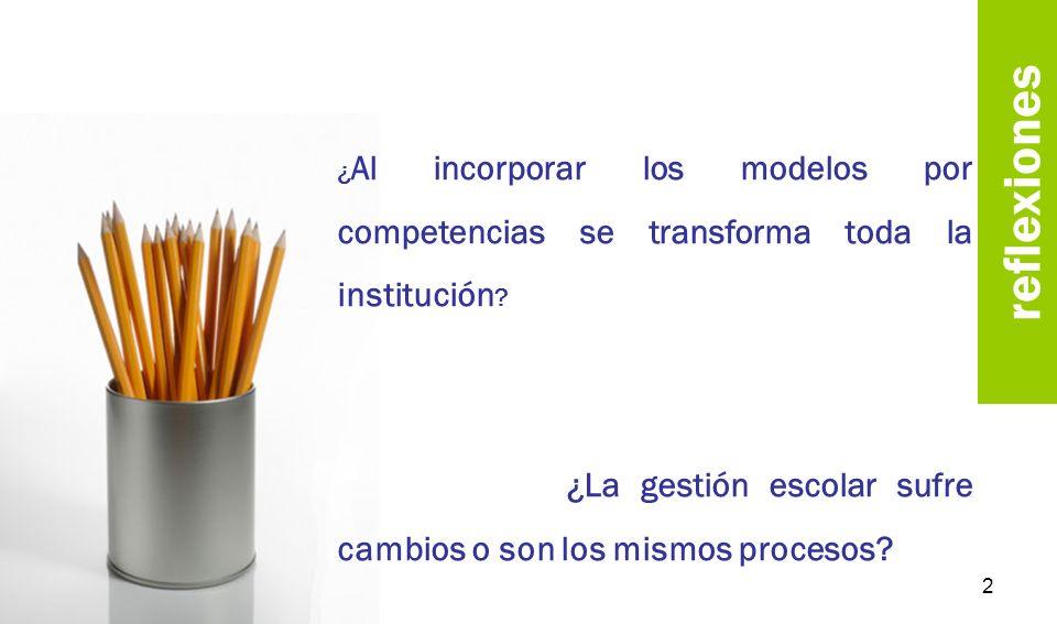 reflexiones ¿El uso de la palabra competencia es una corriente educativa o es una moda.