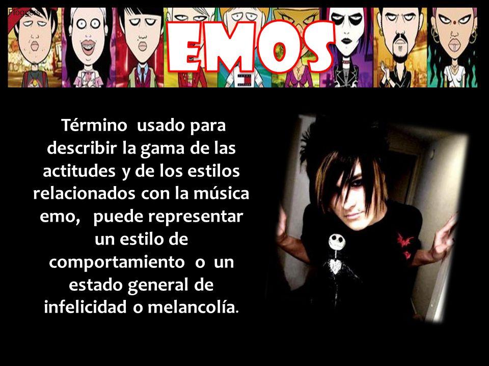 Término usado para describir la gama de las actitudes y de los estilos relacionados con la música emo, puede representar un estilo de comportamiento o