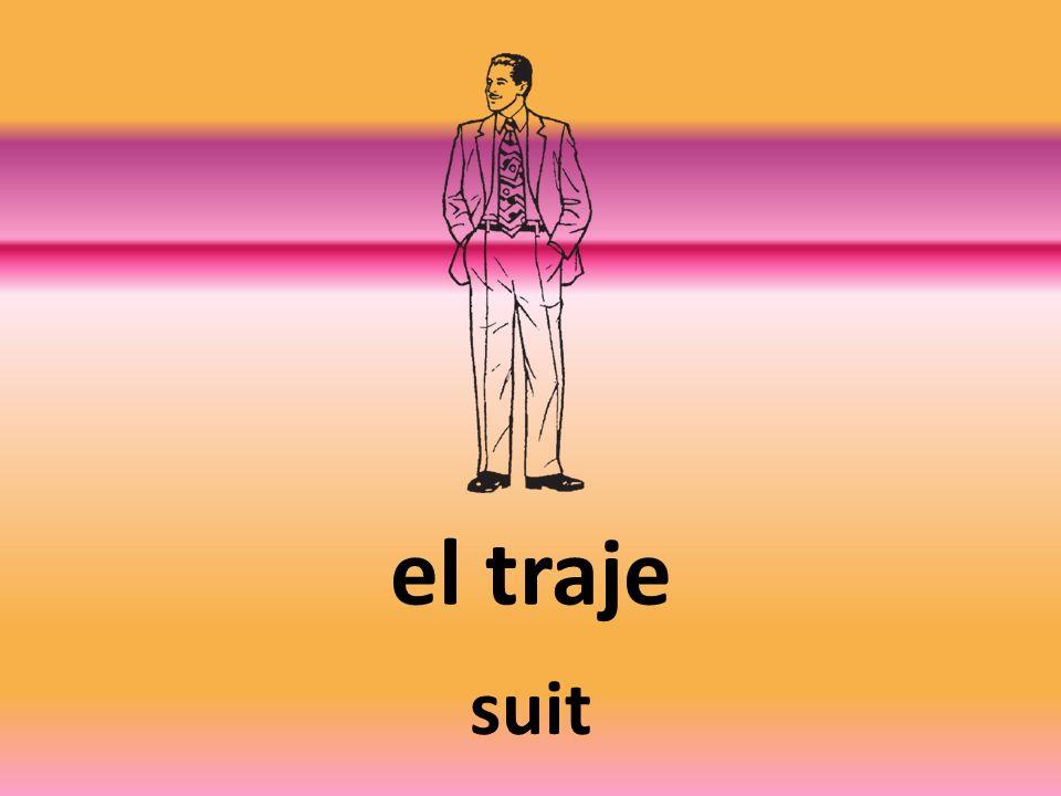 el traje suit