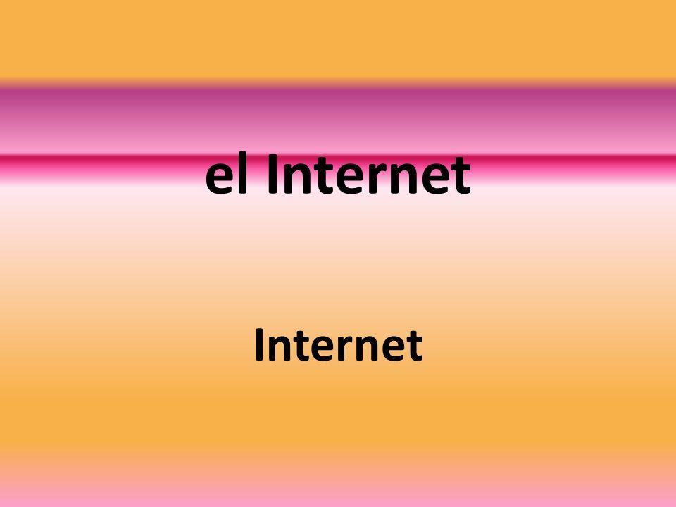 el Internet Internet