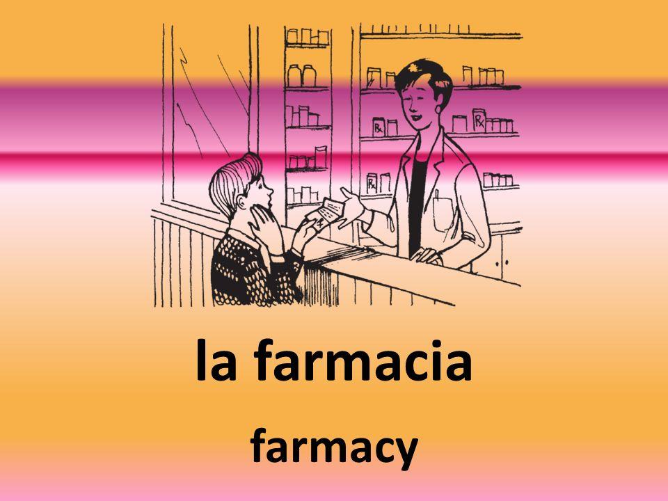 la farmacia farmacy