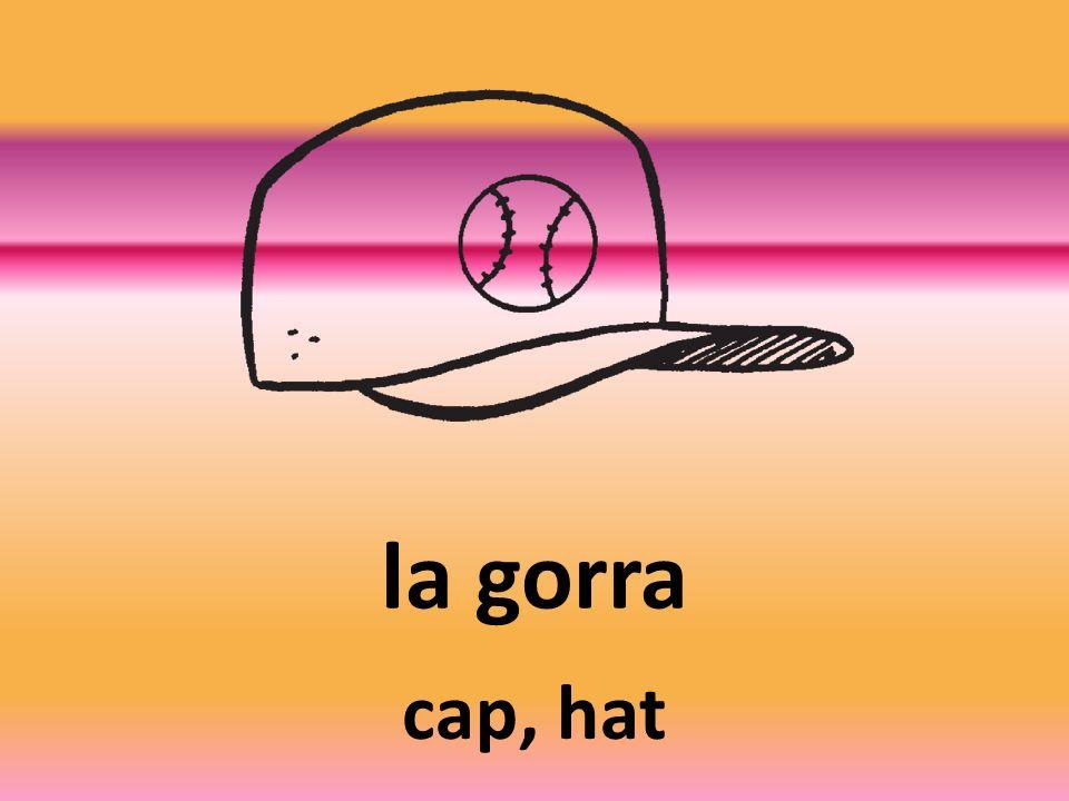 la gorra cap, hat
