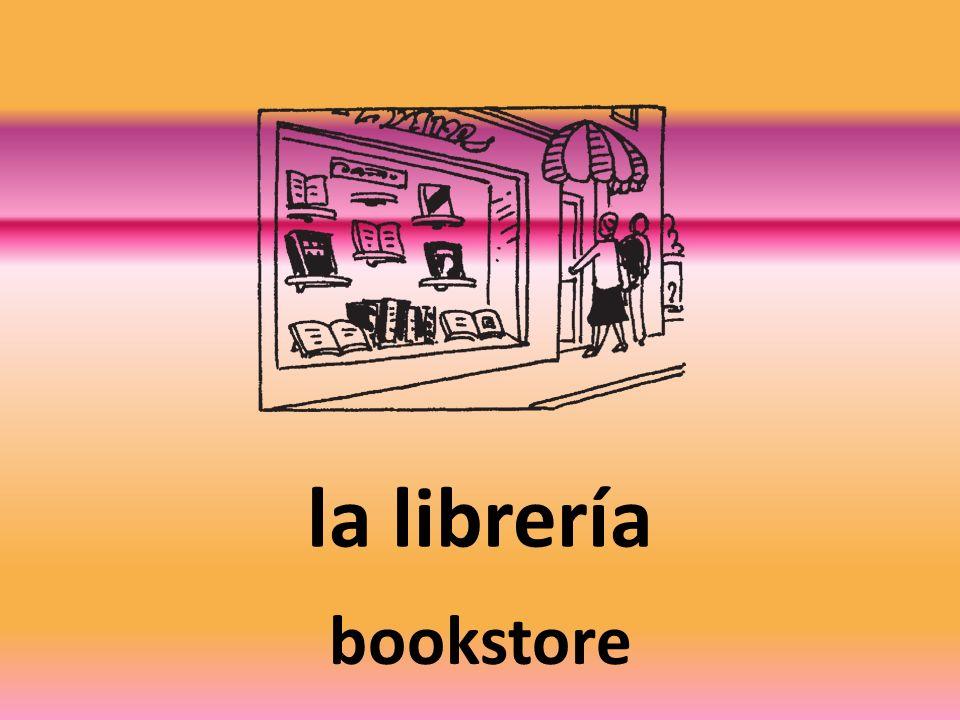 la librería bookstore