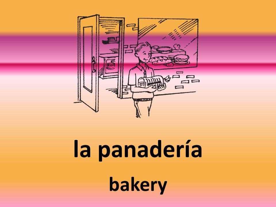 la panadería bakery