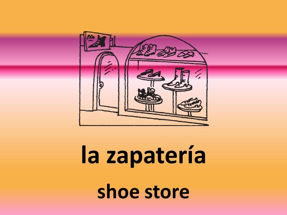 la zapatería shoe store