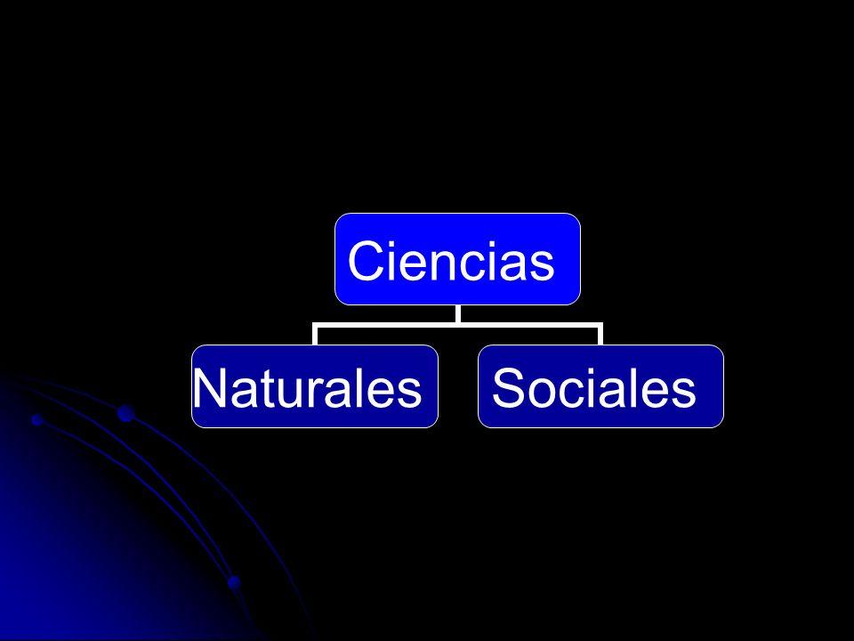 Ciencias NaturalesSociales