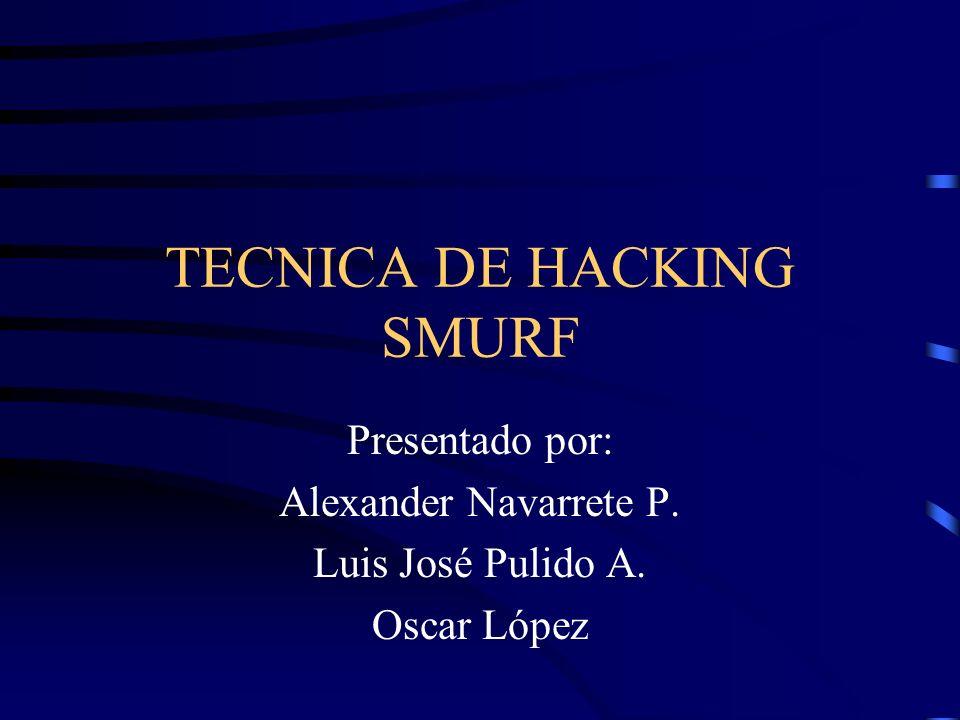Conclusiones Smurf es un ataque bastante poderoso, y no muy difícil de llevar a cabo Cuando se presenta un ataque Smurf no solo la víctima puede sufrir de DoS, el intermediario se puede ver afectado.