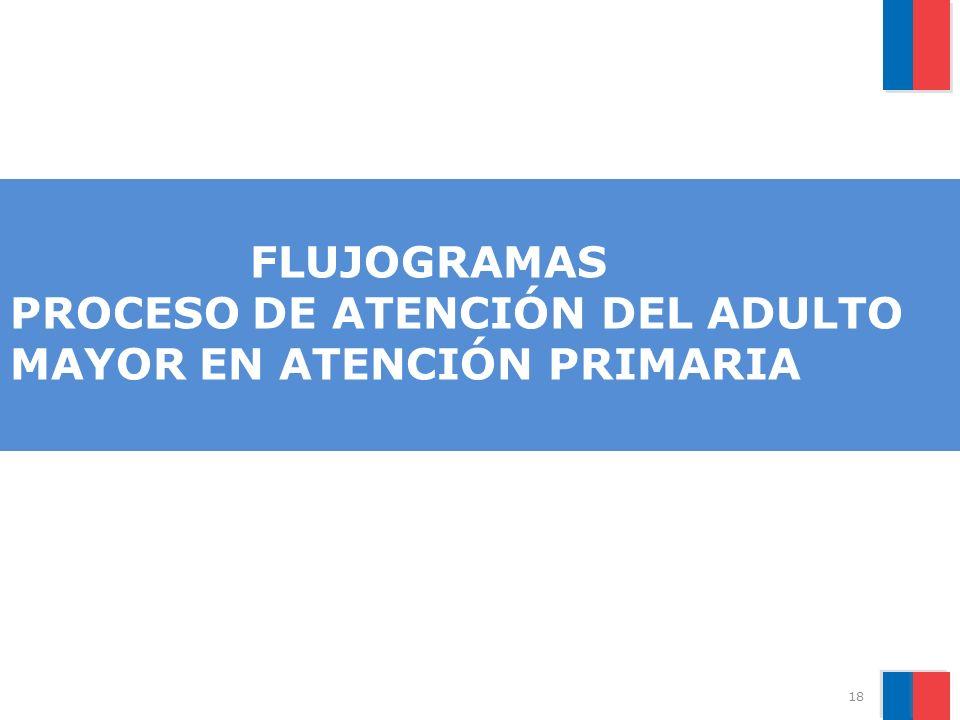 FLUJOGRAMAS PROCESO DE ATENCIÓN DEL ADULTO MAYOR EN ATENCIÓN PRIMARIA 18