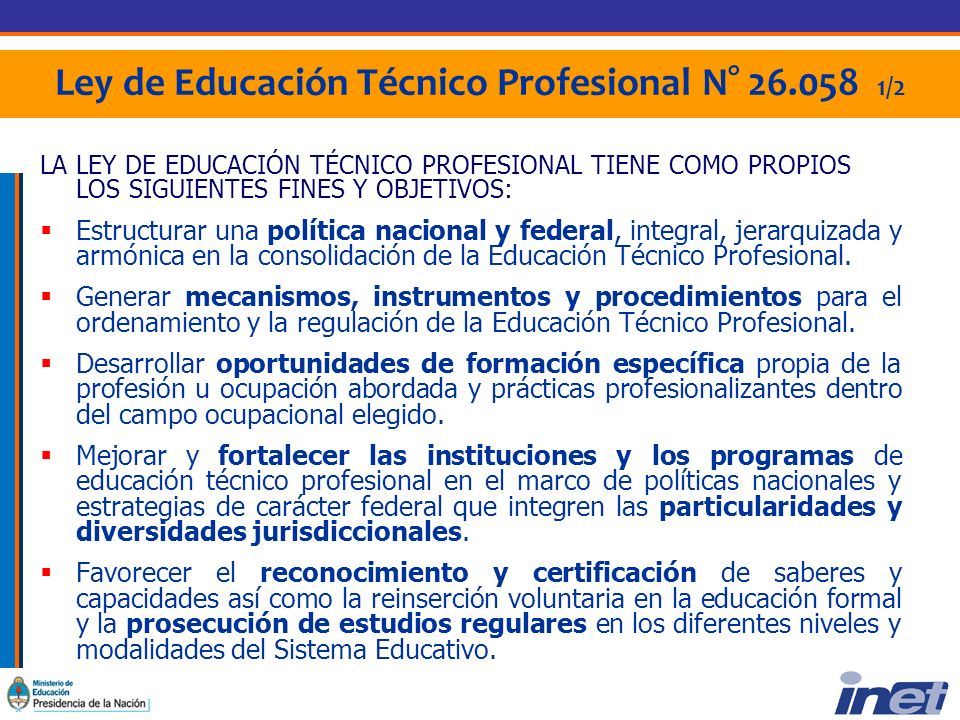 Resolución 62/08 Mochila Técnica Para estudiantes matriculados en carreras que otorgan títulos técnicos de nivel secundario, técnicos de nivel superior y FP.