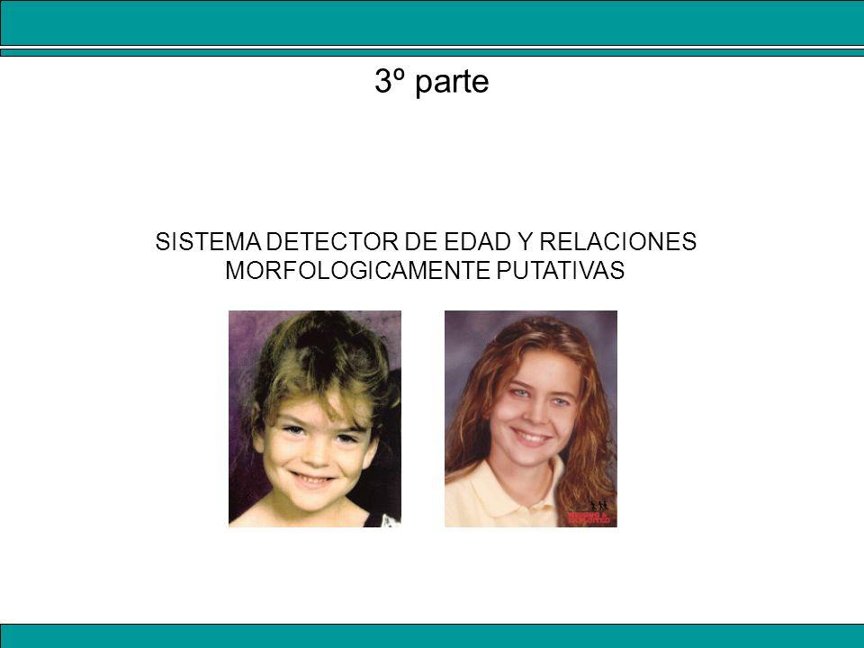 SISTEMA DETECTOR DE EDAD Y RELACIONES MORFOLOGICAMENTE PUTATIVAS 3º parte