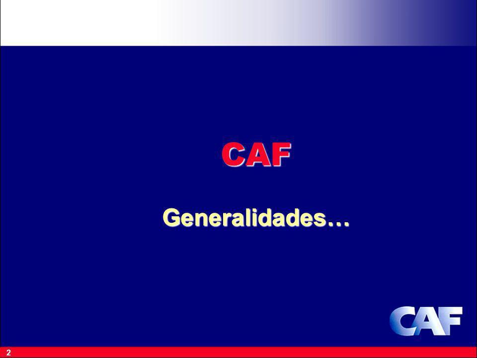 2 CAF Generalidades…