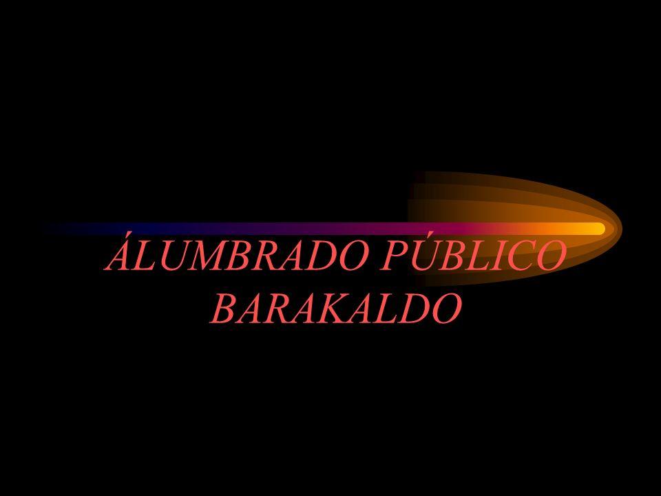 ÁLUMBRADO PÚBLICO BARAKALDO