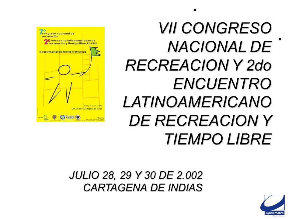 VII Congreso Nal. de Recreación y 2 do encuentro Lat.