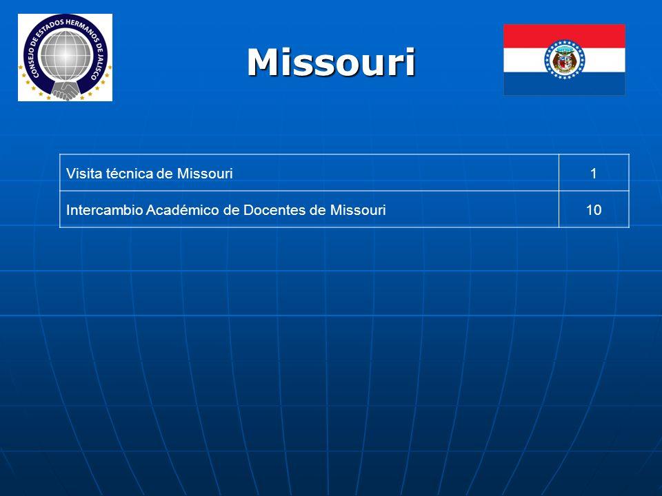 Missouri Visita técnica de Missouri1 Intercambio Académico de Docentes de Missouri10