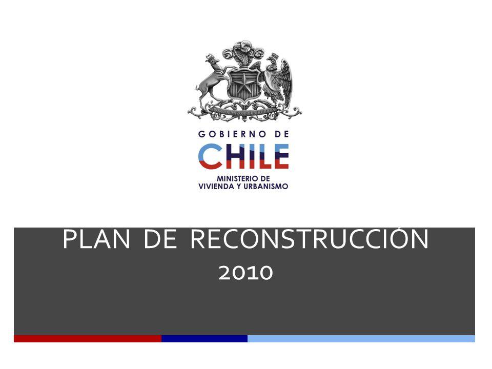 PLAN DE RECONSTRUCCIÓN 2010