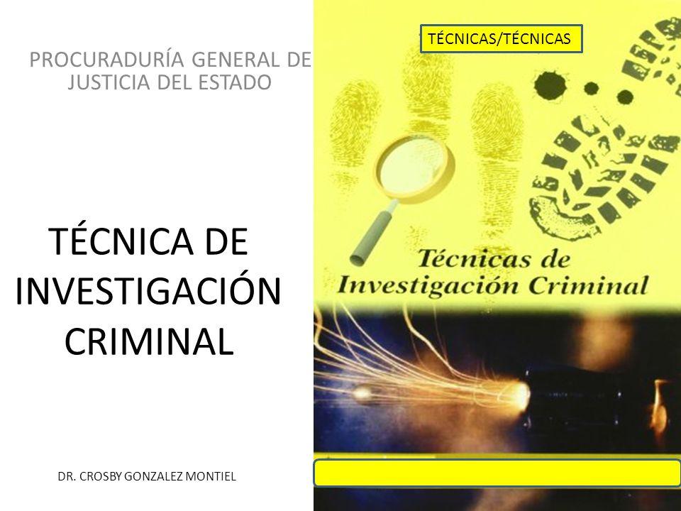 EL MÉTODO EN LA INVESTIGACION CRIMINAL El Método.¿Qué es.