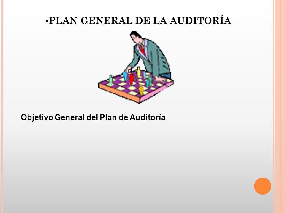 Objetivo General del Plan de Auditoría