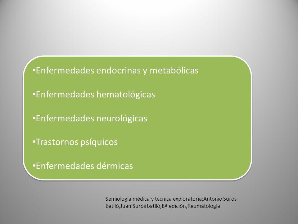Semiología médica y técnica exploratoria;Antonio Surós Batlló,Juan Surós batlló,8ª.edición,Reumatología Enfermedades endocrinas y metabólicas Enfermed