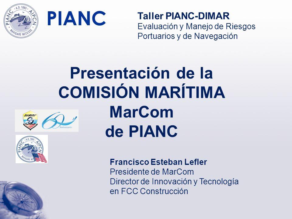 PIANC Gracias por su atención Francisco Esteban Lefler festeban@fcc.es