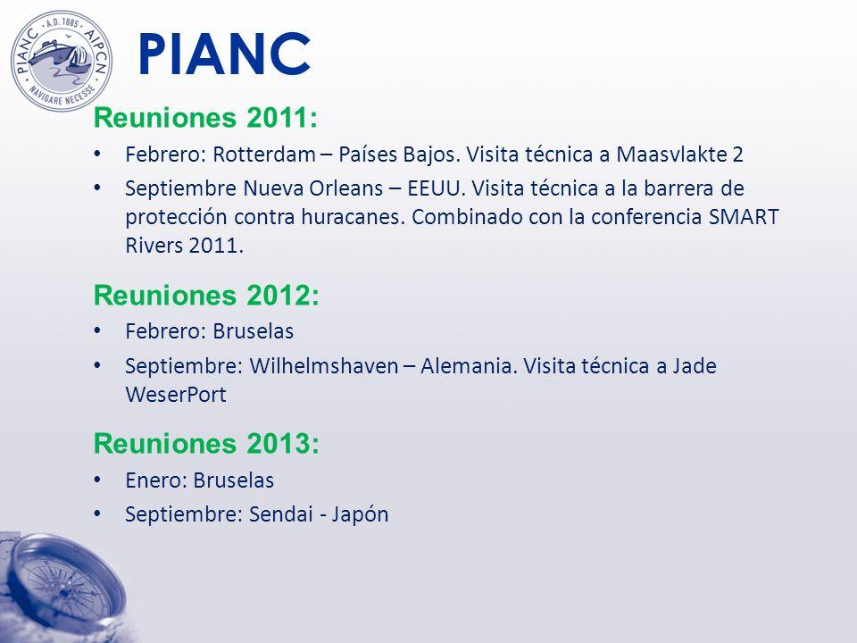 PIANC Visita técnica MarCom septiembre 2011 Barrera de protección contra Huracanes en Nueva Orleans
