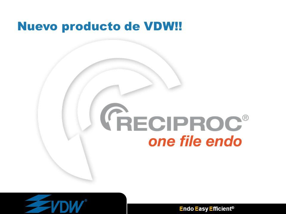 Endo Easy Efficient ® Nuevo producto de VDW!!
