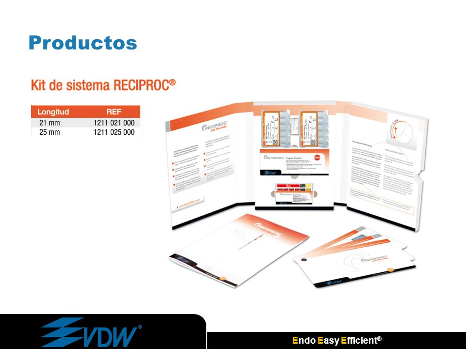 Endo Easy Efficient ® Productos