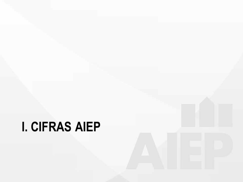 I. CIFRAS AIEP
