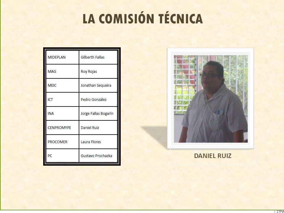 LA COMISIÓN TÉCNICA DANIEL RUIZ